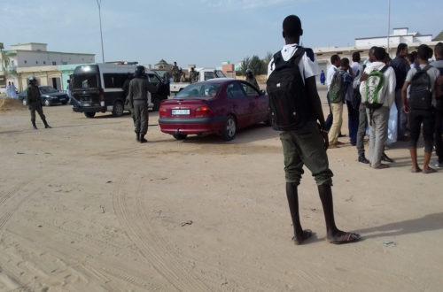 Article : Mauritanie: Rassemblement d'étudiants à Nouakchott, la police réprime