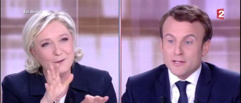 Article : Débat – Présidentielle France: Self contrôle de Macron et contre-vérités de Marine Le Pen